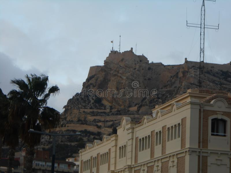 Παλαιό κτήριο στην Ισπανία στοκ εικόνα