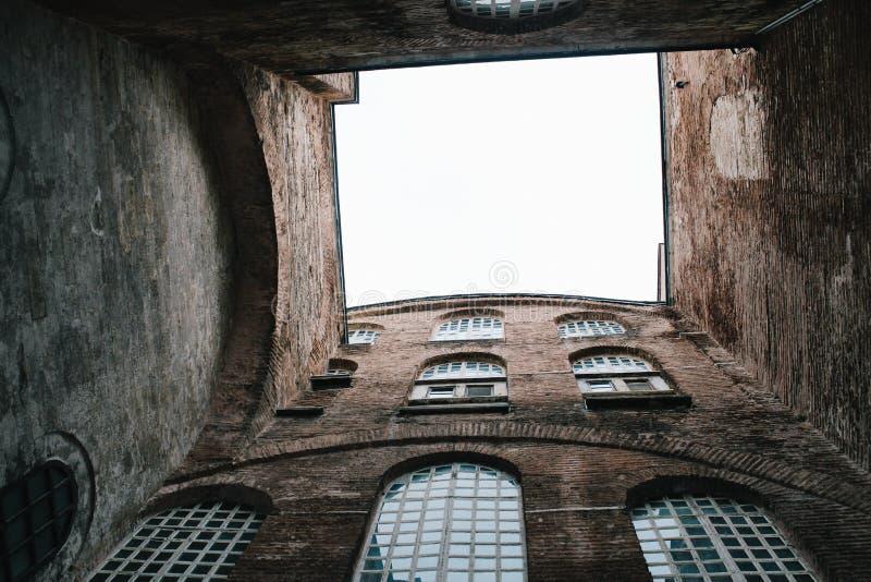 Παλαιό κτήριο στο μουσείο Ayasofya, Ιστανμπούλ, Τουρκία στοκ φωτογραφία
