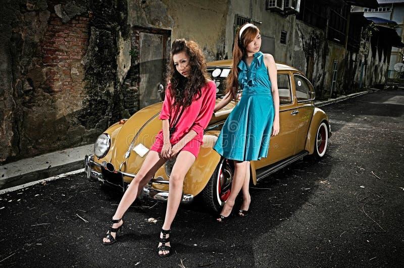 παλαιό μοντέλο αυτοκινήτ&o στοκ εικόνα