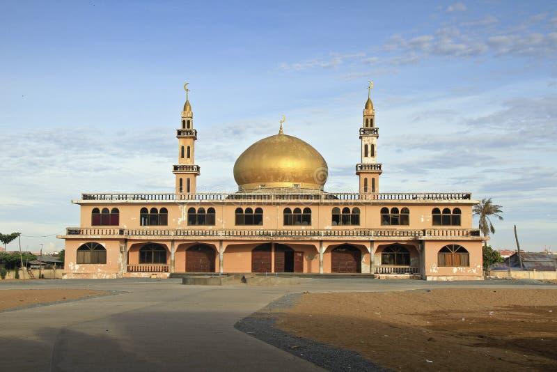 Παλαιό μουσουλμανικό τέμενος του Ντουμπάι Πνομ Πενχ στοκ εικόνα με δικαίωμα ελεύθερης χρήσης