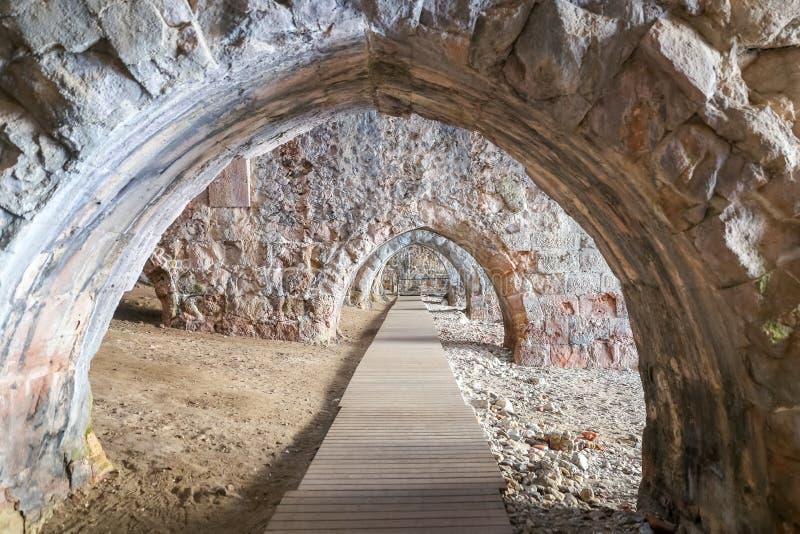 Παλαιό ναυπηγείο Alanya στην πόλη Alanya, Antalya, Τουρκία στοκ εικόνα με δικαίωμα ελεύθερης χρήσης