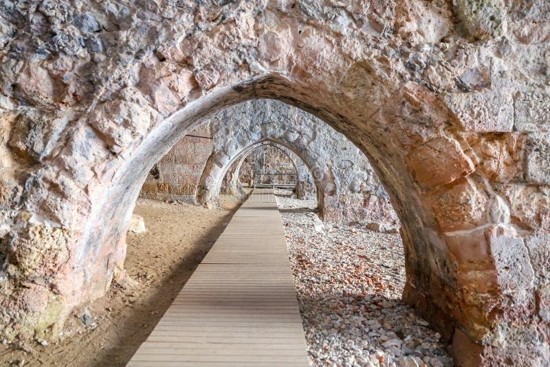 Παλαιό ναυπηγείο Alanya στην πόλη Alanya, Antalya, Τουρκία στοκ φωτογραφία με δικαίωμα ελεύθερης χρήσης