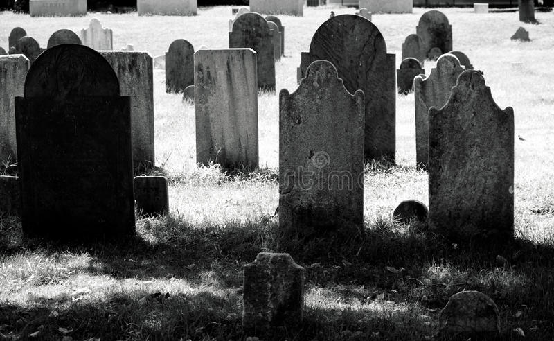 Παλαιό νεκροταφείο στοκ εικόνα