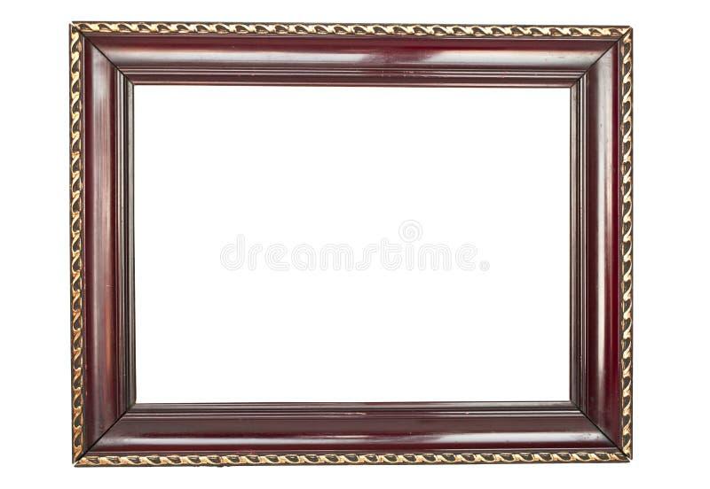 Παλαιό ξύλινο πλαίσιο στοκ φωτογραφίες με δικαίωμα ελεύθερης χρήσης