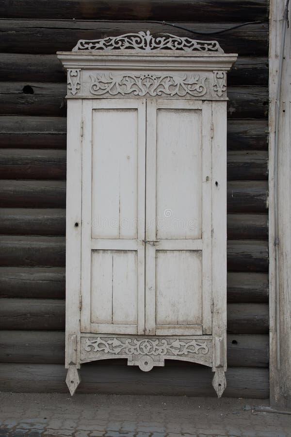 Παλαιό παράθυρο κλειστό στοκ εικόνα με δικαίωμα ελεύθερης χρήσης