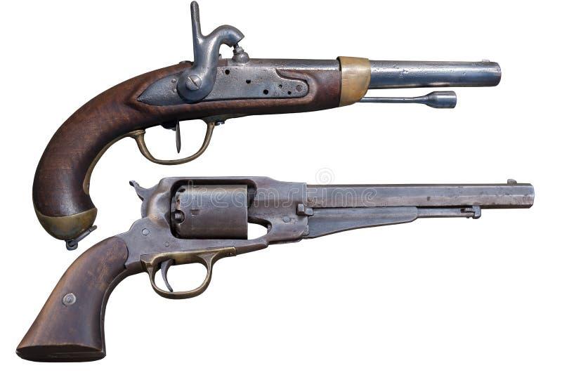 Παλαιό πιστόλι πυροβόλων όπλων στοκ φωτογραφία με δικαίωμα ελεύθερης χρήσης