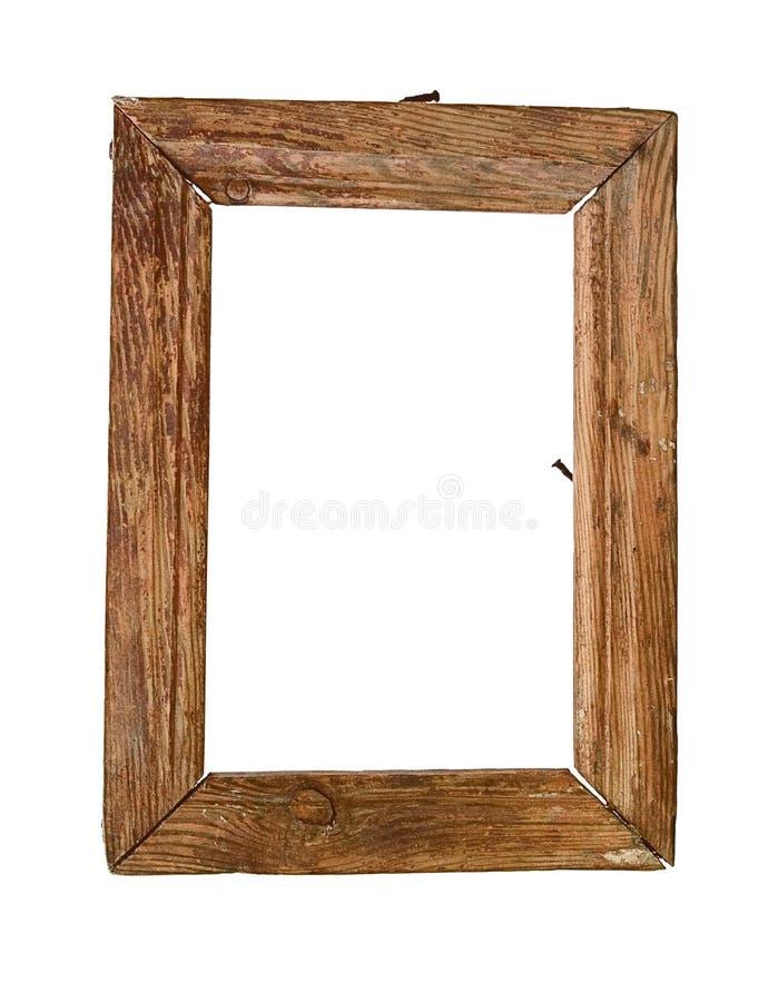 παλαιό πλαίσιο ξύλινο στοκ φωτογραφία