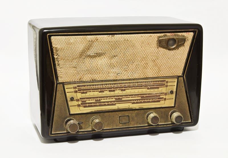 παλαιό ραδιόφωνο στοκ εικόνες με δικαίωμα ελεύθερης χρήσης