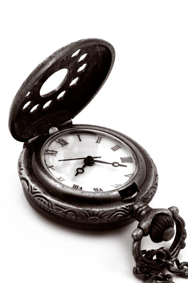παλαιό ρολόι έκδοσης τσεπών χαλκού στοκ φωτογραφίες με δικαίωμα ελεύθερης χρήσης