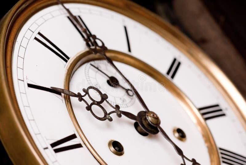 Παλαιό ρολόι. Στοκ Εικόνες