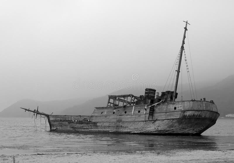 παλαιό σκάφος στοκ εικόνες