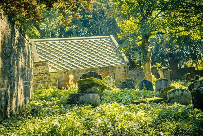 Παλαιό σκωτσέζικο νεκροταφείο στοκ φωτογραφίες με δικαίωμα ελεύθερης χρήσης