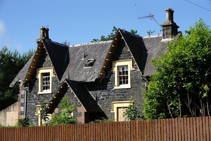 Παλαιό σπίτι σταθμών, Beattock, Σκωτία στοκ εικόνα