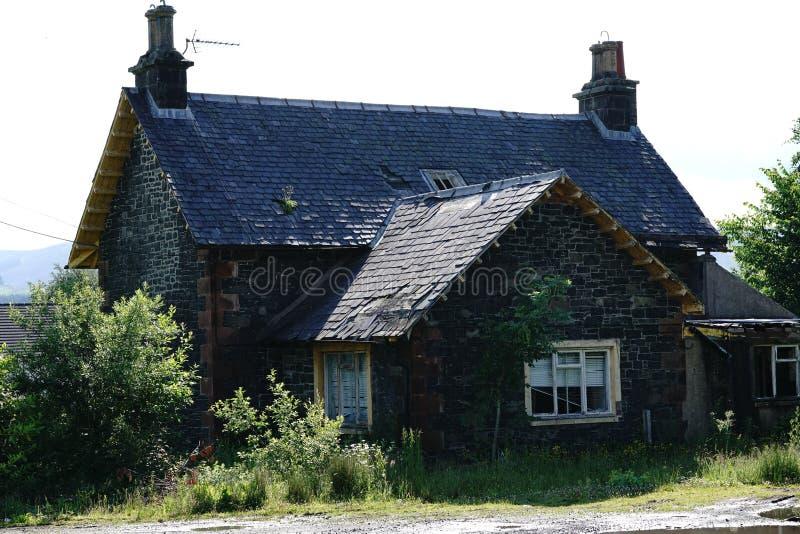 Παλαιό σπίτι σταθμών, Beattock, Σκωτία στοκ φωτογραφίες