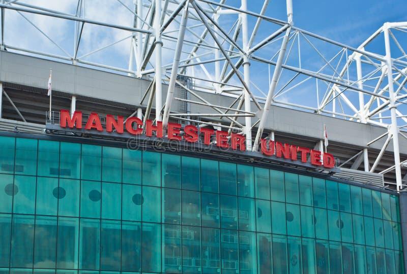 Παλαιό στάδιο Trafford - Manchester United στοκ εικόνα