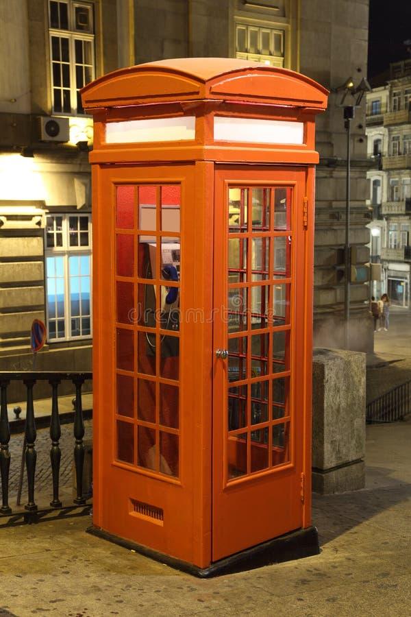 παλαιό τηλέφωνο του Πόρτο &t στοκ εικόνες