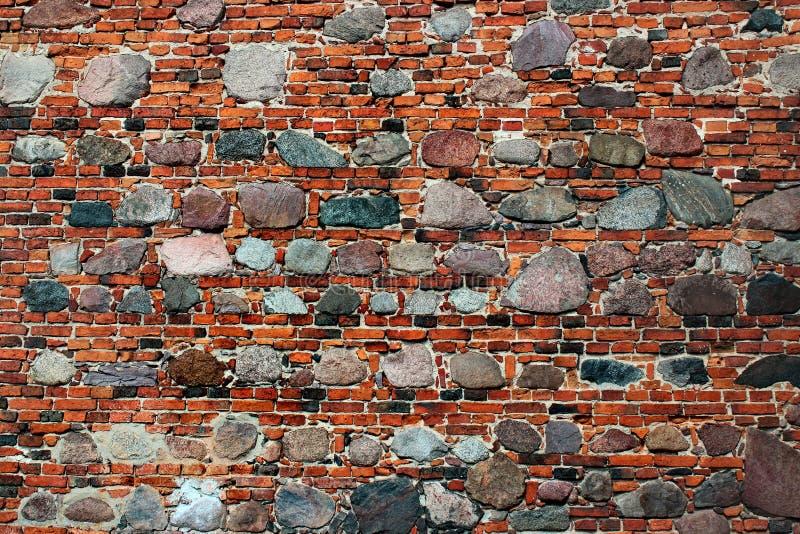 Παλαιό τούβλινο υπόβαθρο πλακών τεκτονικών και πετρών στοκ εικόνα
