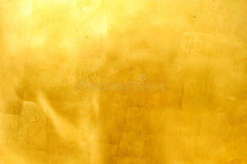 Παλαιό υπόβαθρο σύστασης Grunge χρυσό στοκ φωτογραφίες με δικαίωμα ελεύθερης χρήσης