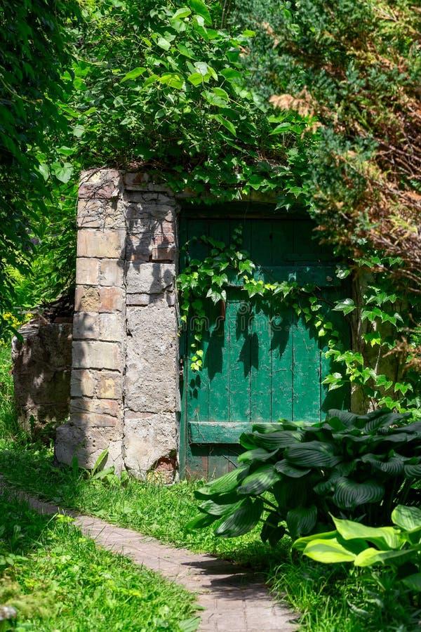 Παλαιό υπόγειο κελάρι αμπέλων για την αποθήκευση του κρασιού στοκ εικόνες