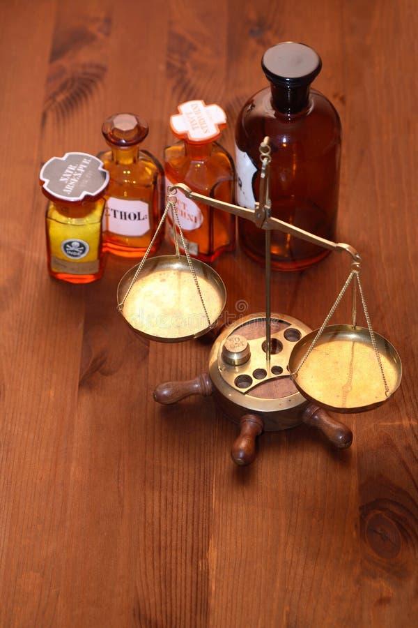 παλαιό φαρμακείο στοκ εικόνα