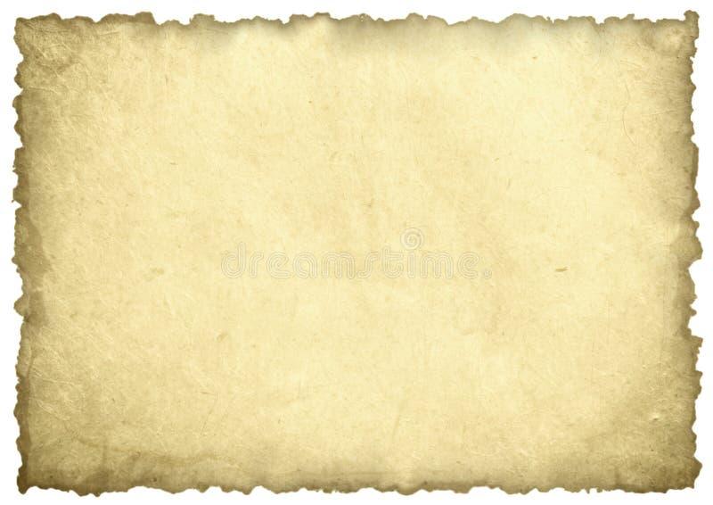 Παλαιό φύλλο εγγράφου στοκ φωτογραφία με δικαίωμα ελεύθερης χρήσης