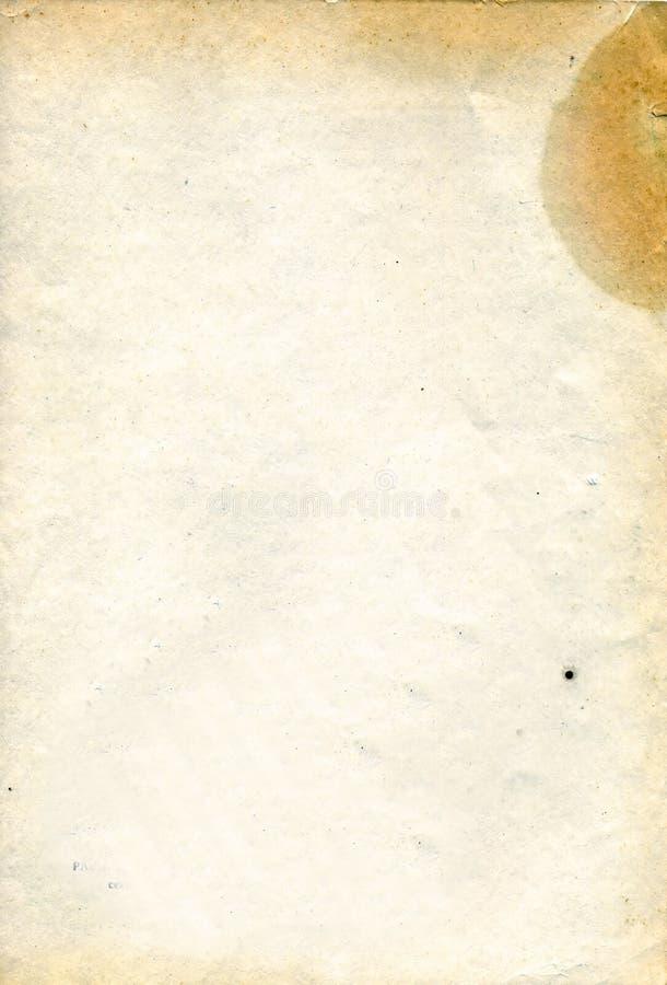παλαιό φύλλο εγγράφου στοκ φωτογραφίες