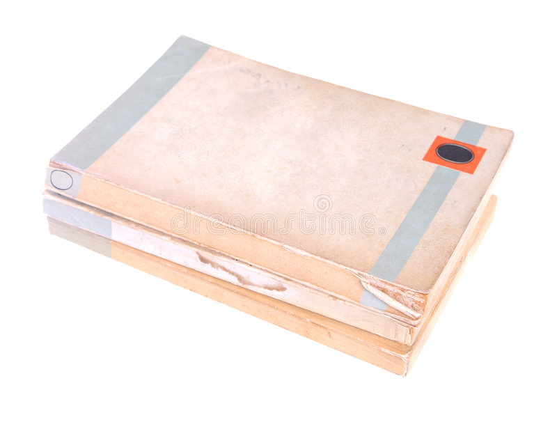παλαιό χαρτόδετο βιβλίο &beta στοκ εικόνα