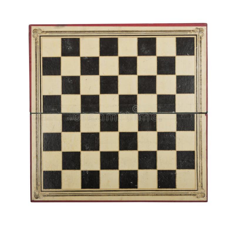 Παλαιό χαρτόνι σκακιού στοκ φωτογραφίες