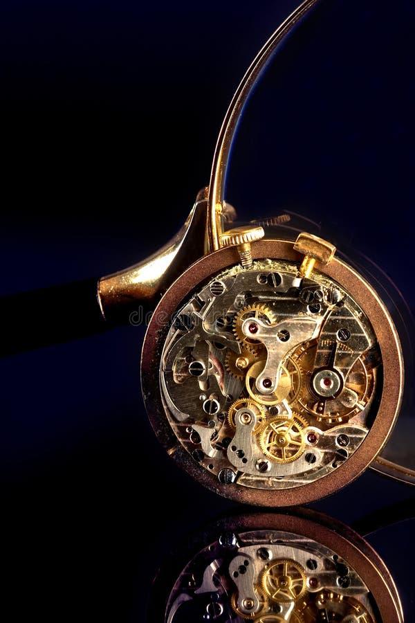 παλαιό χρονόμετρο με δια&kapp στοκ εικόνες