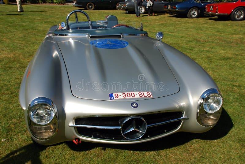 Παλαιό χρονόμετρο Mercedes 300 sls στοκ φωτογραφία