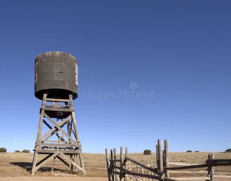 παλαιό ύδωρ πύργων δυτικό στοκ φωτογραφία με δικαίωμα ελεύθερης χρήσης