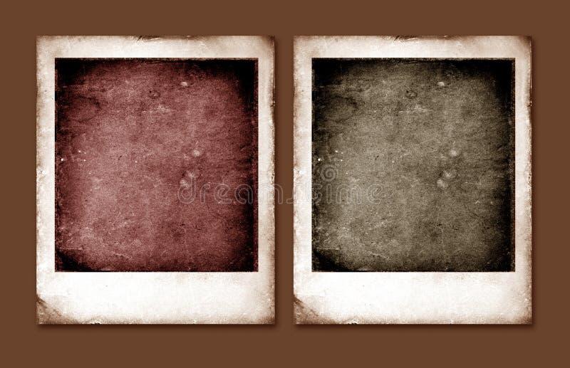 Παλαιό Polaroid στοκ εικόνα