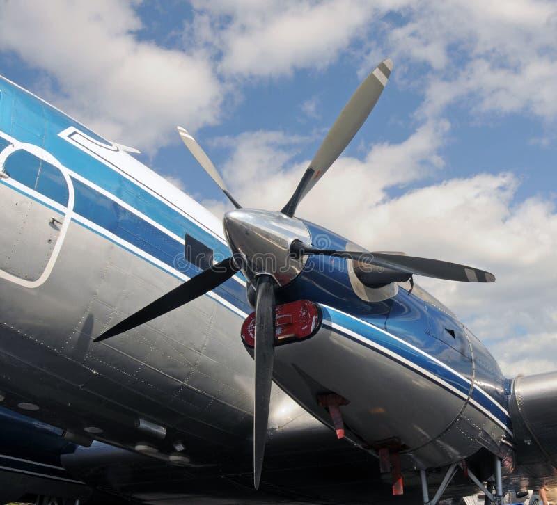 παλαιό porpeller αεροπλάνων στοκ εικόνες