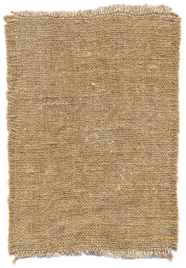 παλαιό sackcloth κομματιού στοκ φωτογραφία με δικαίωμα ελεύθερης χρήσης