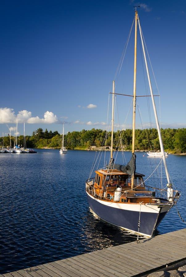 Παλαιό sailboat στοκ φωτογραφίες με δικαίωμα ελεύθερης χρήσης