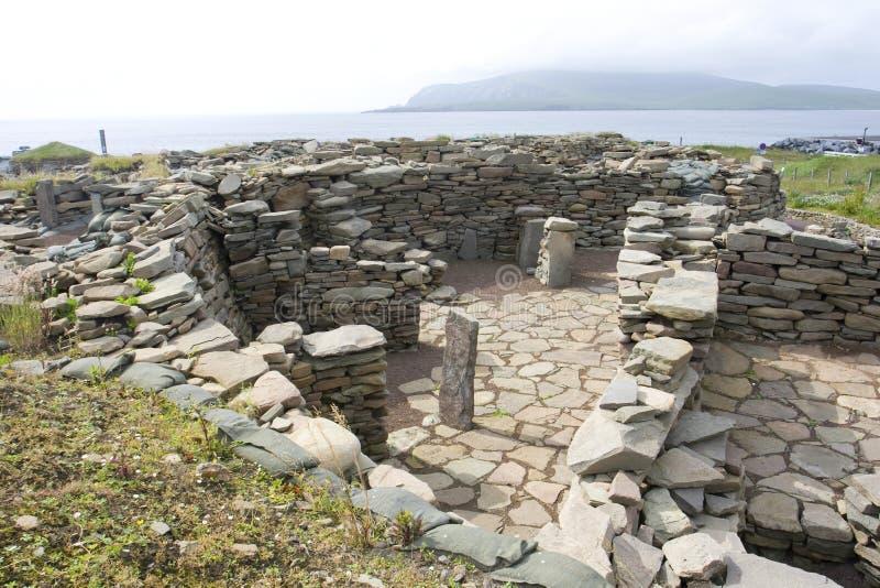 παλαιό scatness Shetland καταστροφών στοκ φωτογραφίες με δικαίωμα ελεύθερης χρήσης