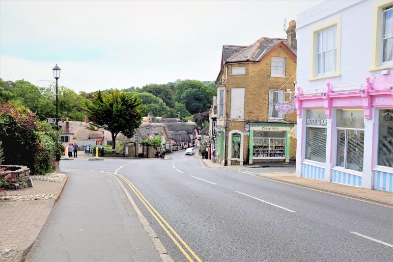 Παλαιό Shanklin, Isle of Wight στοκ εικόνα