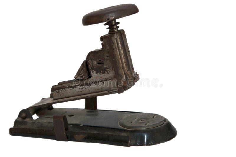 παλαιό stapler μετάλλων στοκ εικόνες