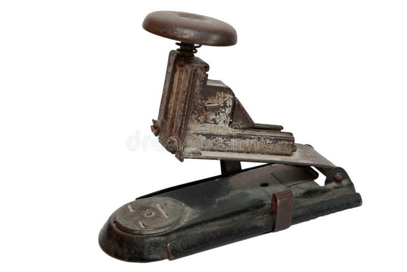 παλαιό stapler στοκ φωτογραφία