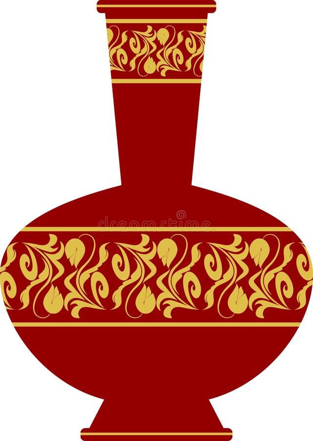 παλαιό vase κινούμενων σχεδίων απεικόνιση αποθεμάτων