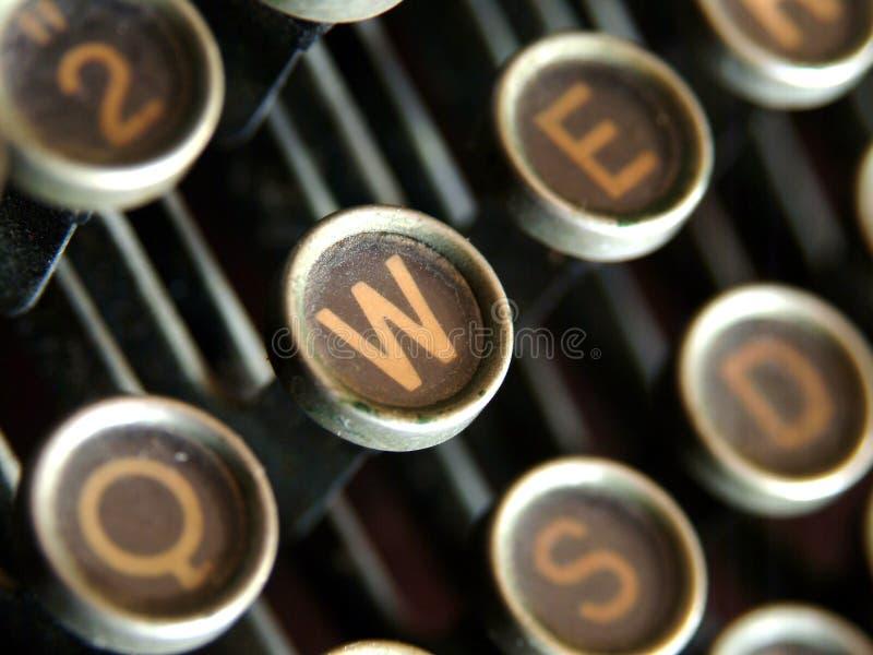 παλαιό W στοκ φωτογραφία με δικαίωμα ελεύθερης χρήσης