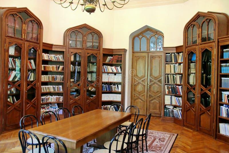 Παλιά βιβλιοθήκη στοκ φωτογραφία με δικαίωμα ελεύθερης χρήσης