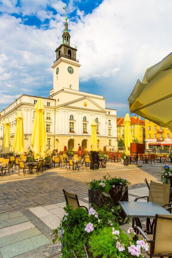 Παλιά πλατεία πόλης του Καλίζ, Πολωνία στοκ φωτογραφίες με δικαίωμα ελεύθερης χρήσης