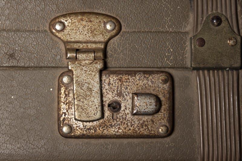 Παλιά σκουριασμένη κλειδαριά στοκ εικόνες