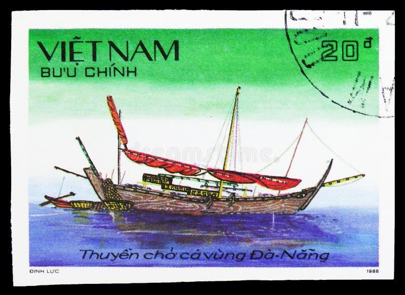 Παλιοπράγματα από τη DA Nang, περιφερειακά παλιοπράγματα αλιείας του Βιετνάμ serie, circa 1989 στοκ εικόνες με δικαίωμα ελεύθερης χρήσης
