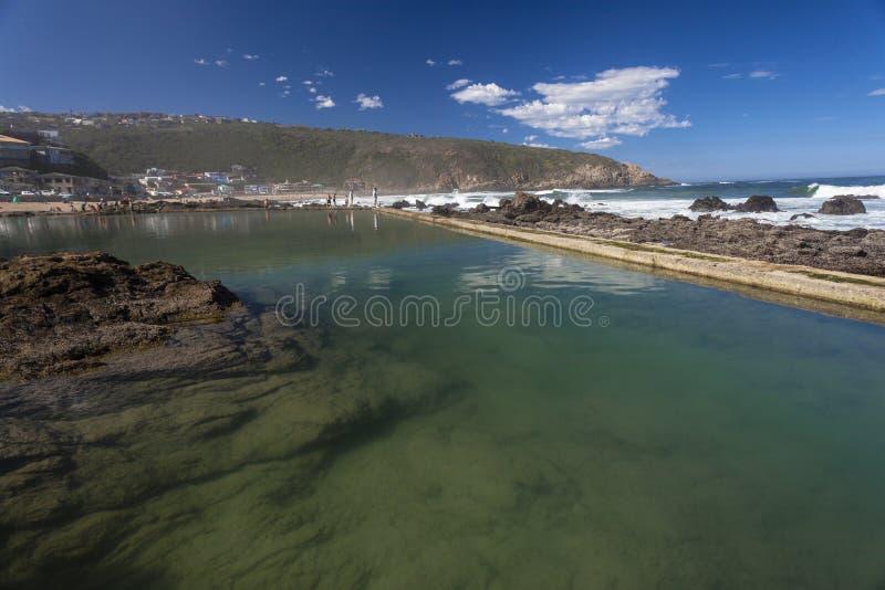 Παλιρροιακός κόλπος Herolds λιμνών βράχου στοκ εικόνα