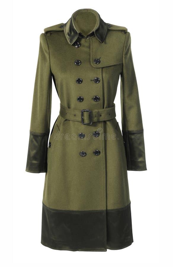 Παλτό μόδας στοκ εικόνες
