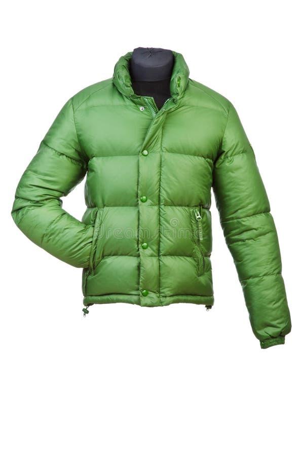 Παλτό που απομονώνεται αρσενικό στοκ εικόνες