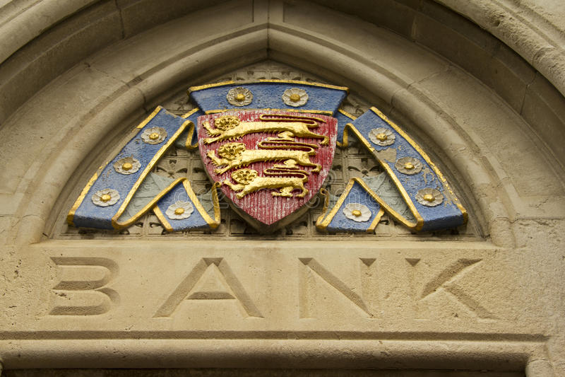 παλτό τραπεζών όπλων στοκ φωτογραφία με δικαίωμα ελεύθερης χρήσης