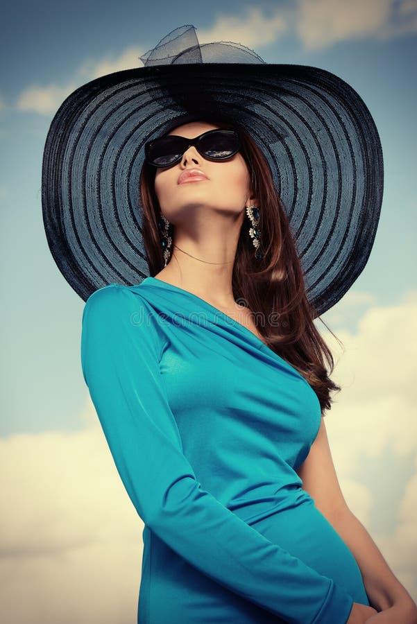 πανέμορφη κυρία στοκ φωτογραφίες